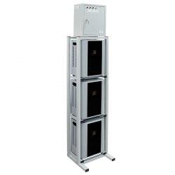 Трёхфазный стабилизатор напряжения Энергия Hybrid-30000/3 навесной модульный 3-ф нагрузка