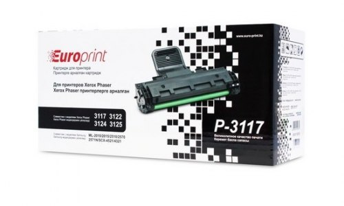 Картридж Europrint EPC-P3117, Для принтеров Xerox Phaser 3117/3122/3124/3125, 3000 страниц.