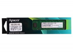 Модуль памяти Apacer, DL.04G2K.HAM, DDR3, 4 GB ,DIMM <PC3-12800/1600MHz> CL11