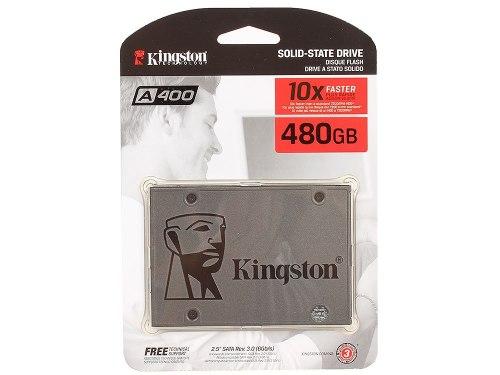 Твердотельный накопитель SSD Kingston A400, 480 GB ,SATA SA400S37/480G, SATA 6Gb/s