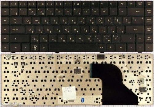 Клавиатура для ноутбука HP Compaq 620, RU, черная
