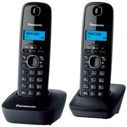 Телефон Panasonic KX-TG1612CAH ,(black, gray)