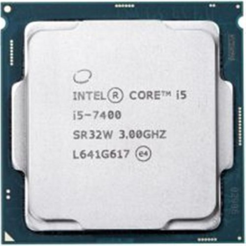 Процессор Intel Сore i5-7400, oem ,СPU 3.0GHz (Kaby Lake, 3.5), 4C/4T, 6 MB L3, HD630/350, 65W, Socket 1151