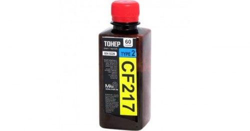 Тонер черный Static Control© №17A CF217 55г