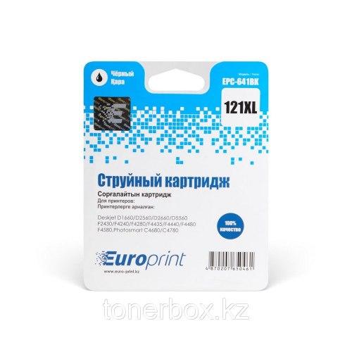 Картридж, Europrint, EPC-641BK, №121xl