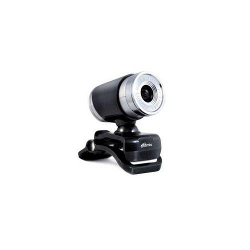 Вебкамера Ritmix RVC-007M WebCamera 300K CMOS sensor, 1600x1200 max, mic, USB