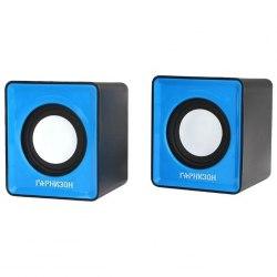 Акустическая система Гарнизон GSP-100 (2.0), Синий SPK active 2*1W, USB power, blue