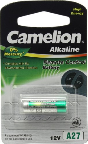 Батарейка Camelion A27, [A27-BP5] alkaline, 12V, [A27-BP5]