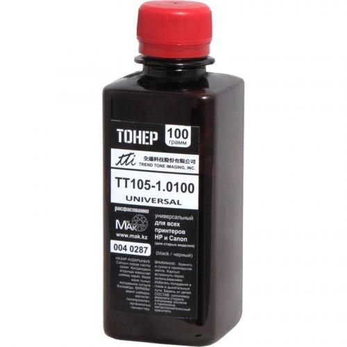 Тонер черный (black) TTI Classic T105-1010 100г