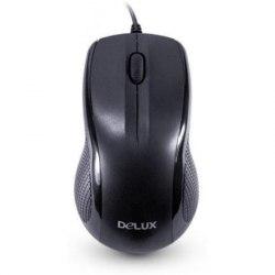 Мышь, Delux, DLM-388OUB, 3D, Оптическая, 800dpi, USB