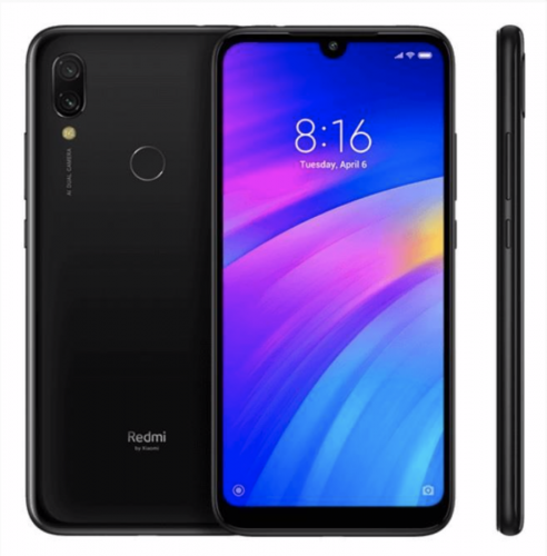 """Мобильный телефон, Xiaomi, Redmi 7 2GB 16GB, 6.26"""" Черный"""