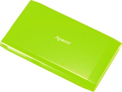 Внешний жесткий диск Apacer AC235, 1 TB, зеленый ,HDD USB AP1TBAC235G-1, USB 3.1, green