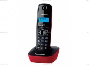 Телефон Panasonic KX-TG1611CAR, красный ,(red)