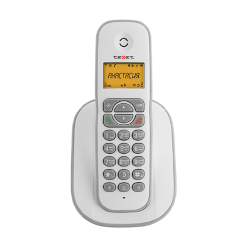 Телефон беспроводной Texet TX-D4505A бело-сервый Texet TX-D4505A
