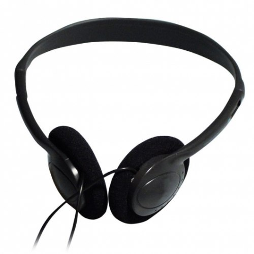 Headphone Ritmix RH-501, 16ohm, 20-20000Hz, 105db, cable 2m, 3.5mm, black Ritmix RH-501
