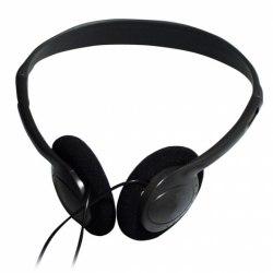 Headphone Ritmix RH-501, 16ohm, 20-20000Hz, 105db, cable 2m, 3.5mm, black Ritmix RH-501