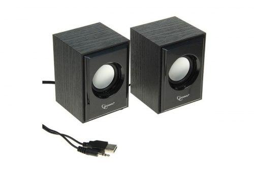 SPK active Gembird SPK-205 (2.0), RMS 3wx2, USB power, Black Gembird SPK-205