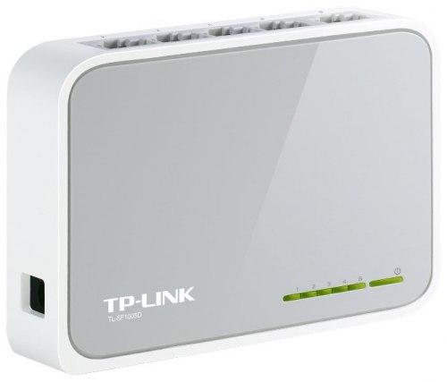 Switch 5 port 10/100 Mbit, TP-Link TL-SF1005D, Auto MDI/MDI-X, desktop/wall, ext. PS, retail TP-Link TL-SF1005D