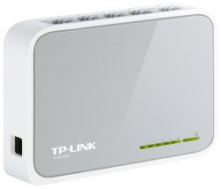 Switch 5 port 10/100 Mbit, TP-Link TL-SF1005D, Auto MDI/MDI-X, desktop/wall, ext. PS, retail TP-Link TL-SF1005D