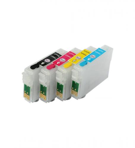 Перезаправляемые картриджи Brusten SC3 для EPS/ StylusPhoto TX200/209 TX400/409