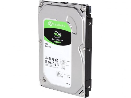 Жесткий диск HDD 1000 Gb Seagate Barracuda (ST1000DM010)