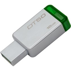 USB Флешка 16GB Kingston DataTraveler 50, USB 3.1, Silver