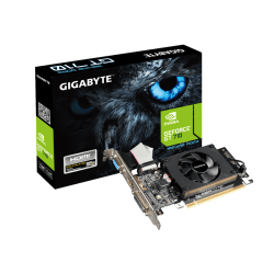 Видеокарта Gigabyte GT 710, 1 GB ,SVGA PCI Express, DVI/HDMI, GDDR5/64bit, [GV-N710D5-1GL]