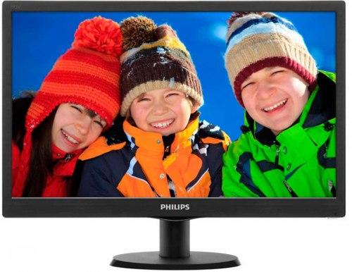 Монитор Philips 193V5LSB2 18.5/1366x768 HD/TN/VGA