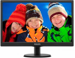 Монитор Philips 193V5LSB2 18.5/1366x768 HD/TN/VGA