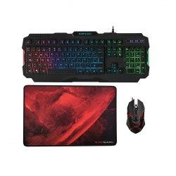 Игровой комплект клавиатура, мышь и коврик Mars Gaming MCP118, Игровая