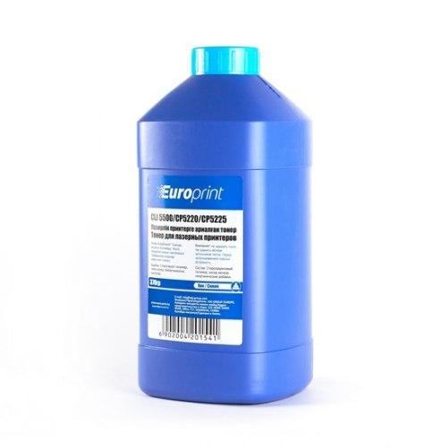 Тонер Europrint HP CLJ 5500 Синий (370 гр.), Для картриджей HP Color LaserJet 5500/CP5220/CP5225