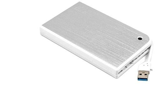 "Коробка для 2,5"" жестких дисков Agestar 3UB2A14, Белый ,External Case SATA to USB 3.0, power via USB, white"