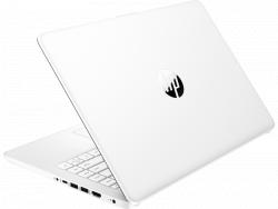 "Ноутбук HP 14s-fq0027ur, белый ,NB Ryzen 3-3250U-2.6/256GB SSD/8GB/Radeon Vega 3/14""FHD/DOS, white"