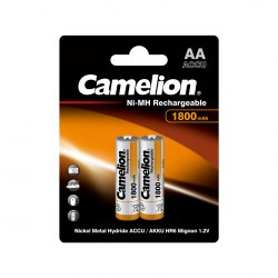 Аккумулятор CAMELION Rechargeable Ni-MH NH-AA1800BP2 2 шт. в блистере