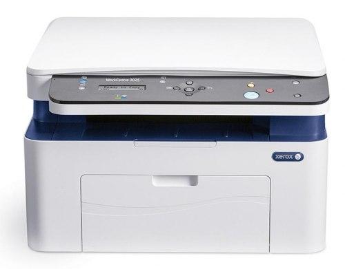 Монохромное МФУ, Xerox, WorkCentre 3025BI, A4(Без прошивки)