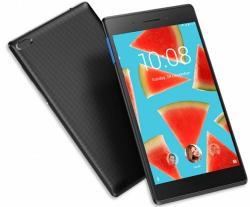 "Планшет Lenovo Tab 7 Essential (TB-7304F), 16GB, Черный ,Lenovo Android 7.0, Quad Core 1.3GHz/1GB/7.0"", black"