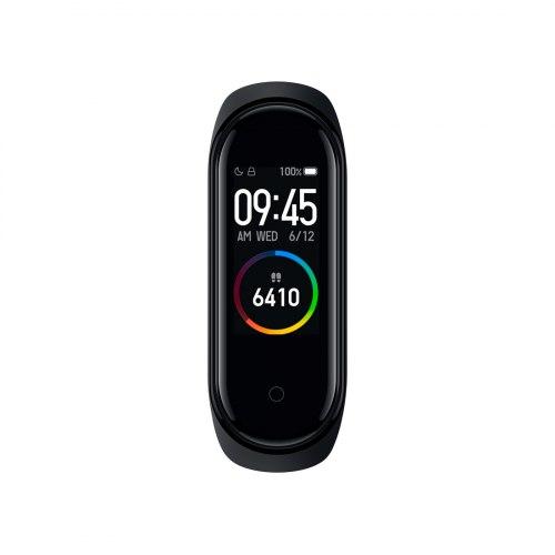 """Фитнес браслет, Xiaomi, Mi Smart Band 4 XMSH07HM, 512 КБ, 16GB,0.95"""", Разрешение экрана 120 x 240 RGB,135 мАч, Черный"""