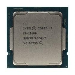 Процессор, Intel, 1200 i3-10100, оем, 6M, 3.60 GHz, 4/8 Core Comet Lake, 65 Вт, HD630