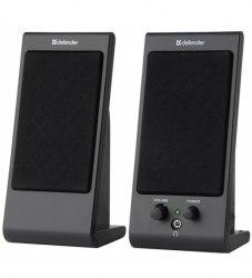 Акустическая система Defender 170, Черный ,SPK active (2.0), 2W*2, USB power, 200-18000 Hz, black