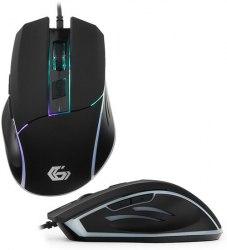 Мышь Gembird MG-500, Optical, 1600 dpi, USB, Черный ,Mouse black