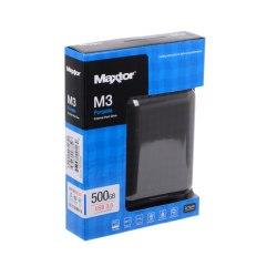 "Внешний жёсткий диск Seagate (Maxtor) 500Gb USB3.0 STSHX-M500TCBM 2.5"" M3 Portable черный"