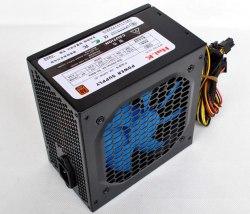 Блок питания Power supler VX-500, 500W, Кабель питания, Чёрный