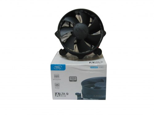Система охлаждения DeepCool Alta 9 Cooler for Socket 1156/1155/1150/775, 65W, 9cm, 2200rpm, 25dBA, 40.9CFM