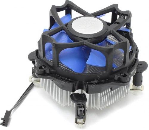Кулер для CPU DeepCool ALTA 7 DP-ICAP-AT7, Intel 1156/LGA1155/LGA1151/LGA1150/LGA775, 95W, 92мм, 2200±10% об/м, 25 дБА, 3pin, Габариты 117х117х73мм, Чёрный
