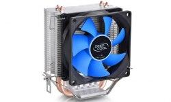 Кулер для CPU DeepCool ICE BLADE 100 DP-MCH1D8-IB100, Intel 1156/1155/1151/1150/775 и AMD FM2/FM1/AM3+/AM3/AM2+/AM2, 95W, 92мм, 2200±10% об/м, 31,6 дБА, 3pin, Габариты 103х70х135мм, Чёрный