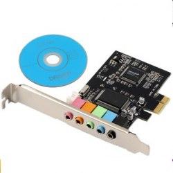 Звуковая карта DM-HD22 PCI-E cmi8738 6 pci-e 5.1