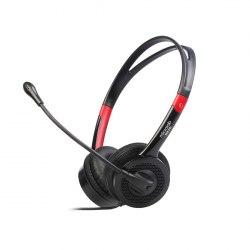 Наушники Microlab K270, Выходная мощность 50мВт, Тип крепления: Дуговые, Микрофон, 3,5 MiniJack*2, Регулятор громкости, Длина кабеля 2,5м, Чёрный