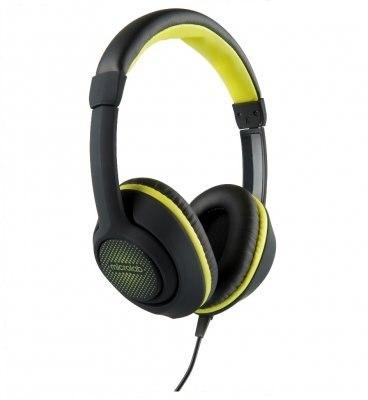 Наушники Microlab K320, Выходная мощность 50мВт, Тип крепления: Дуговые, 3,5 MiniJack, Микрофон (встроенный), Регулятор громкости, Длина кабеля 1,2м, Чёрно-Жёлтый