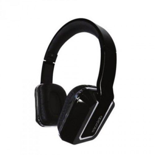 Наушники Microlab K330, Выходная мощность 50мВт, Тип крепления: Дуговые, Микрофон (встроенный), 3,5 MiniJack, Регулятор громкости, Длина кабеля 1,2м, Чёрный