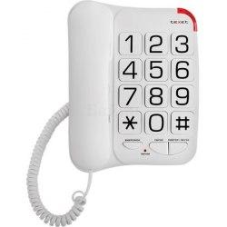 Телефон проводной Texet ТХ-201 белый